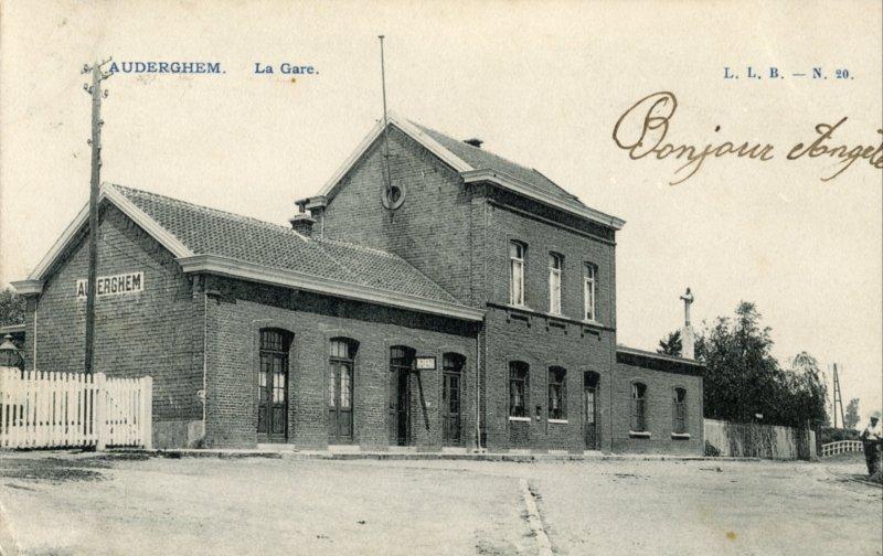 Gares belges - Cartes postales anciennes - Bruxelles - Brussel oude stations