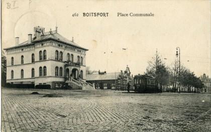 Boistfort - Place communale - Tramway