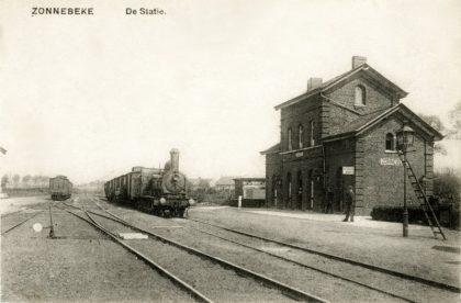 Gare de Zonnebeke - Zonnebeke station