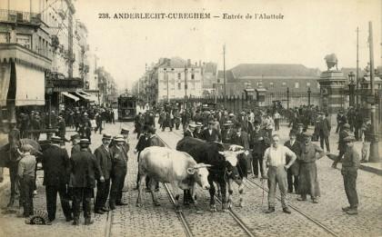 Anderlecht-Cureghem - Entrée de l'abattoir