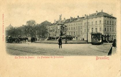 Ixelles - La Porte de Namur