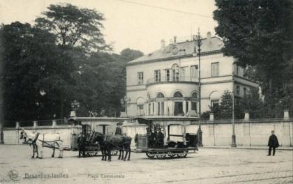 Ixelles - Place communale