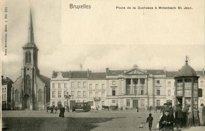 Molenbeek - Place de la Duchesse