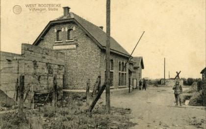 Gare de Westrozebeke - Westrozebeke station