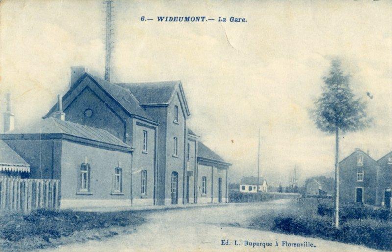 Gare de Wideumont | Railstation
