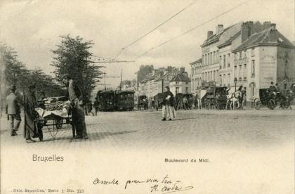 Bruxelles - Boulevard du Midi