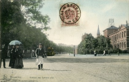 Ixelles - Avenue des Eperons d'Or