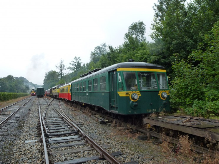 Autorail 55418 - Dorinne 15/08/2015