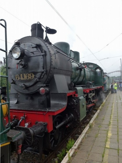 Locomotive 64169 - Ciney 15/08/2015