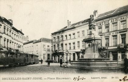 Tramway - Place Hauwaert - Saint-Josse-ten-Noode