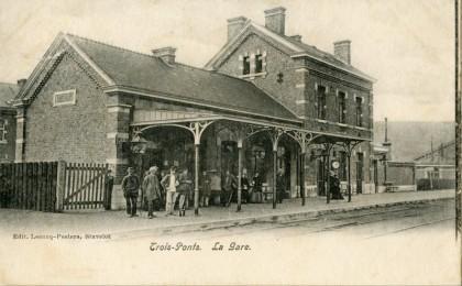 Gare de Trois-Ponts