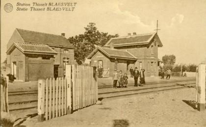 Gare de Tisselt-Blaasveld - Tisselt-Blaasveld station