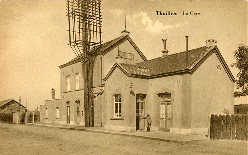 Gare de Thuillies