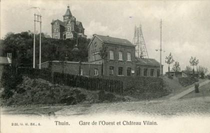 Gare de Thuin Ouest
