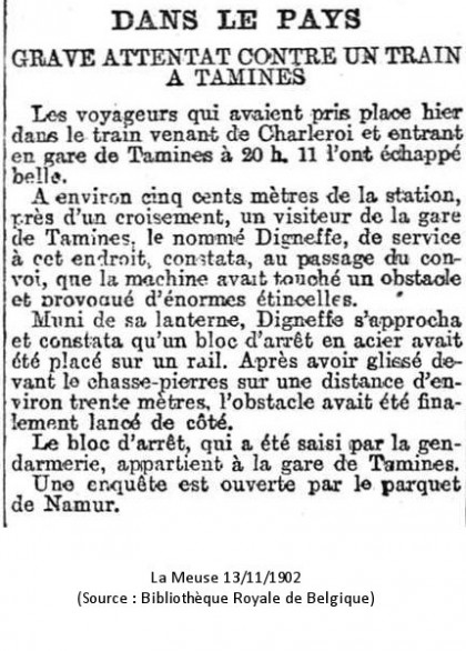 La Meuse 13/11/1902
