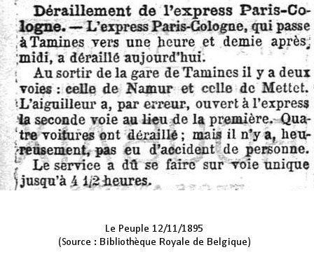 Le Peuple 12/11/1895