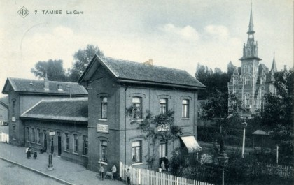 Gare de Tamise - Temse station