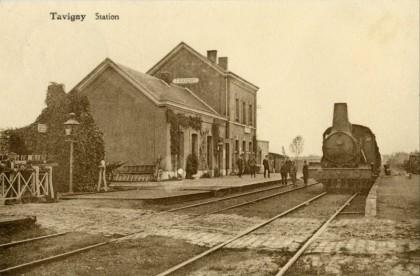 Gare de Tavigny