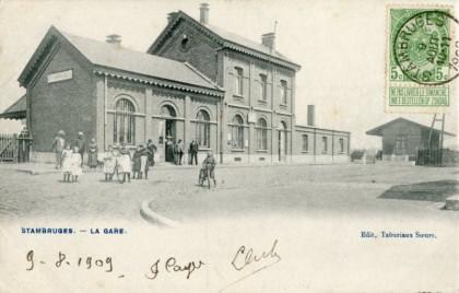 Gare de Stambruges