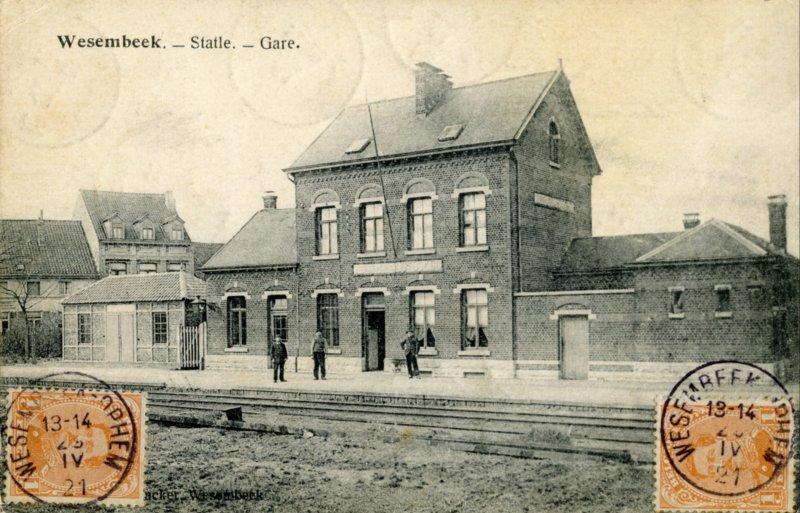 Gare de Stockel