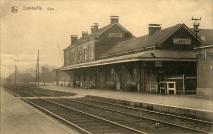 Gare de Sombreffe