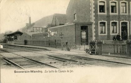 Gare de Souverain-Wandre