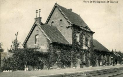 Gare de Sint-Martens-Bodegem (Bodeghem-Saint-Martin)