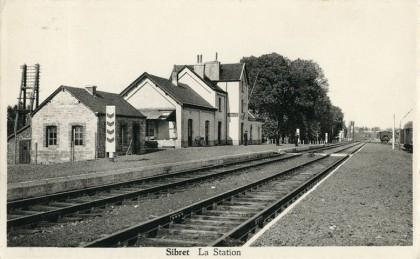Gare de Sibret