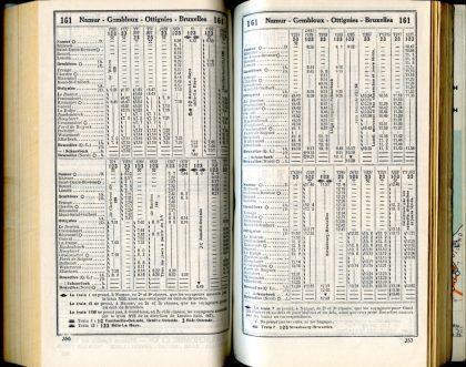 Ligne 161 _ 4 (Horaire 1937)