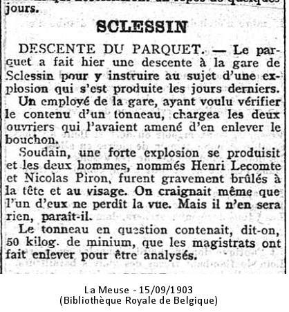 La Meuse 15/09/1903