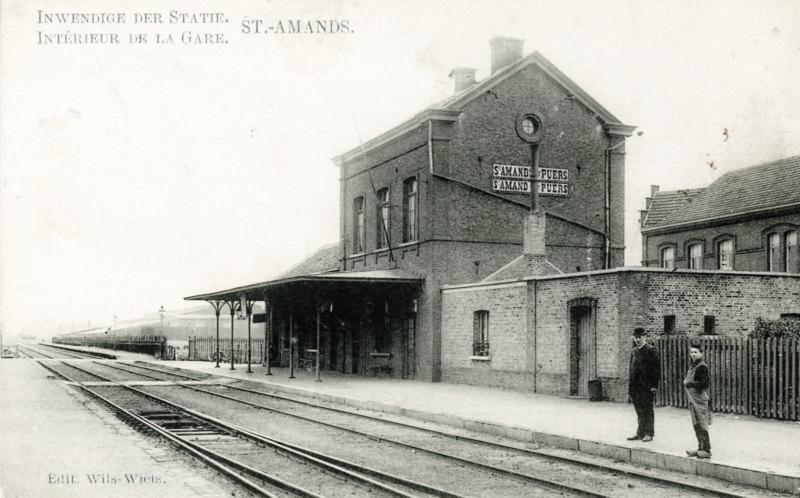 Gare de Sint-Amands - Sint-Amands station