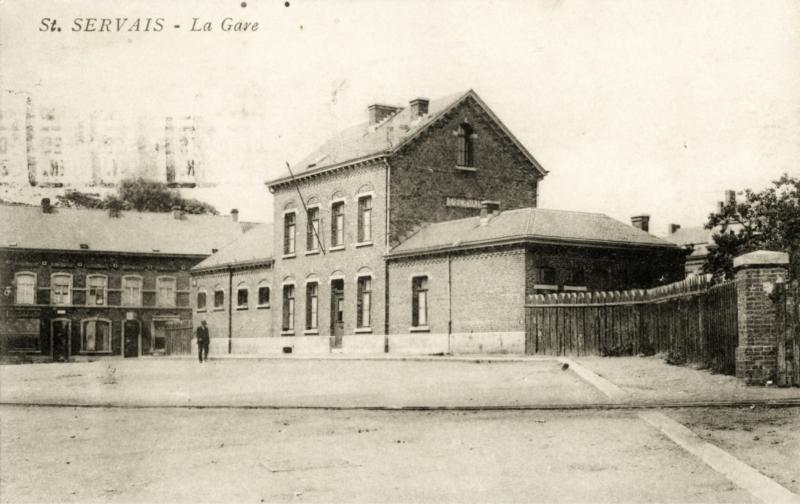 Gare de Saint-Servais