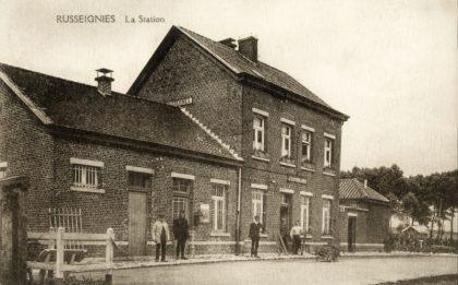 Gare de Russeignies