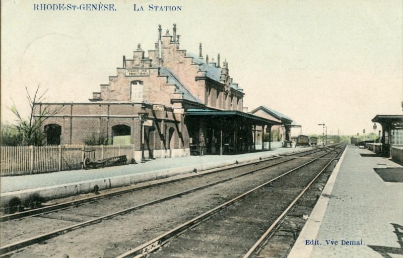 Gare de Rhose-Saint-Genèse - Sint-Genesius-Rode station