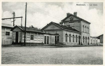 Gare de Remicourt