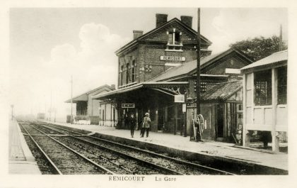 Gare de Remicourt