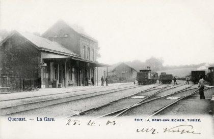 Gare de Quenast
