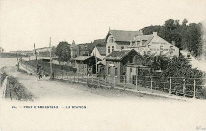 Gare du Pont d'Argenteau