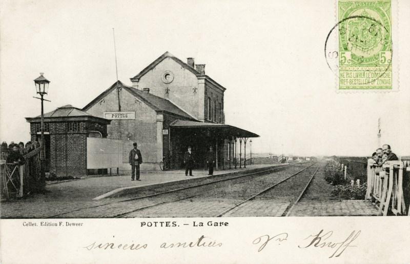Gare de Pottes