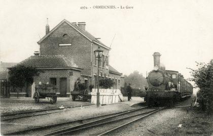 Gare d'Ormeignies