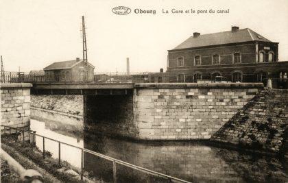 Gare d'Obourg