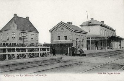 Gare d'Olsene - Olsene station