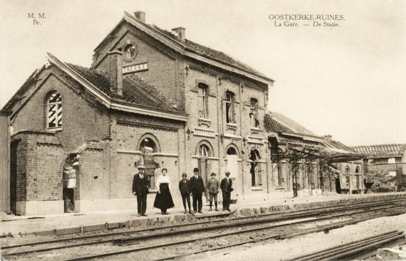 Gare d'Oostkerke - Oostkerke station
