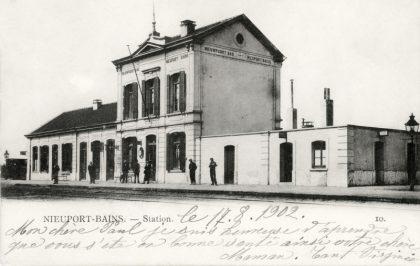 Gare de Nieuport Bains - Nieuwpoort Bad station
