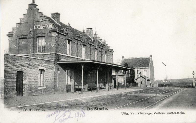 Gare de Moortsele - Moortsele station