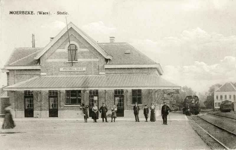 Gare de Moerbeke-Waas - Moerbeke-Waas station