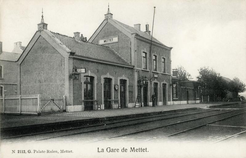 Gare de Mettet