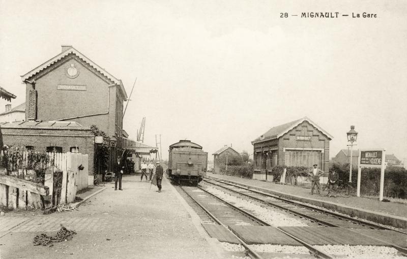 Gare de Mignault