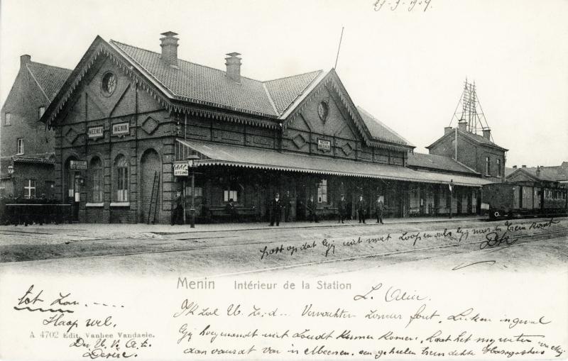 Gare de Menin - Menen station