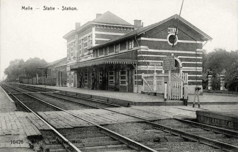 Gare de Melle - Melle station